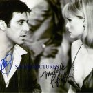 SCARFACE SIGNED RP PHOTO AL PACINO & MICHELLE PFEIFFER