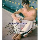 MICHAEL PHELPS SIGNED RP 6x9 PHOTO 14 OLYMPICS GOLD MED