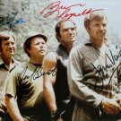 DELIVERANCE CAST SIGNED RP PHOTO BURT REYNOLDS BEATTY VOIGHT AND COX