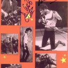THE J GEILS BAND SIGNED AUTOGRAPHED RP PHOTO PETER WOLF