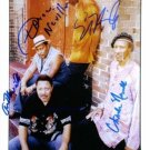 THE NEVILLE BROTHERS SIGNED AUTOGRAPHED RP PHOTO AARON