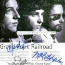 GRAND FUNK RAILROAD SIGNED RP PROMO PHOTO AMERICAN BAND