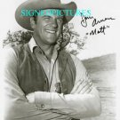 JAMES ARNESS SIGNED RP PHOTO GUNSMOKE MATT DILLON JIM