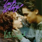 TITANIC SIGNED AUTOGRAPHED RP PHOTO WINSLET & DICAPRIO