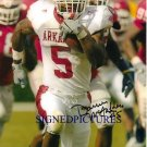 DARREN MCFADDEN SIGNED 8x10 RP PHOTO ARKANSAS RAIDERS