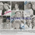 BARBARA WALTERS JOHNNY CARSON LUCY BALL SIGNED RP PHOTO