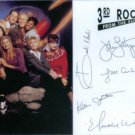 3rd ROCK FROM THE SUN CAST SIGNED AUTOGRAPHED RP PHOTO