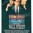 WALL STREET CAST SIGNED PHOTO RP PHOTO DOUGLAS SHEEN +