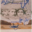 HIGHWAYMAN WAYLON JENNINGS WILLIE NELSON JOHNNY CASH AND KRISTOFFERSON SIGNED RP