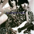 JOE SATRIANI AND STEVE VAI SIGNED AUTOGRAPHED RP PHOTO