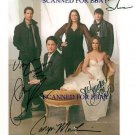 THE GHOST WHISPERER CAST SIGNED RP JENNIFER LOVE HEWITT