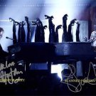 ELTON JOHN AND LADY GAGA SIGNED AUTOGRAPHED RP PHOTO
