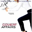 PIPER PERABO SIGNED 8x10 RP PROMO PHOTO COVERT AFFAIRS