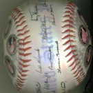 GEORGE WASHINGTON ABRAHAM LINCOLN JOHN KENNEDY TRUMAN + SIGNED AUTO BASEBALL