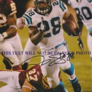 JONATHAN STEWART AUTOGRAPHED 8x10 RP PHOTO CAROLINA PANTHERS JOHNATHAN