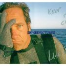 MIKE ROWE AUTOGRAPHED 8x10 RP PHOTO DIRTY JOBS  OIL SPILL  KEEP IT CLEAN