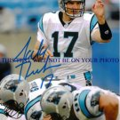 JAKE DELHOMME AUTOGRAPHED 8x10 RP PHOTO CAROLINA PANTHERS