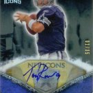 TONY ROMO SIGNED AUTO 2008 UPPER DECK ICONS CARD RARE # 1/35