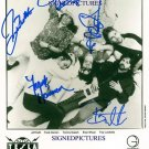 TESLA GROUP BAND SIGNED AUTOGRAPHED 8X10 RP PROMOTIONAL PHOTO LOVE SONG
