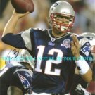 TOM BRADY SIGNED AUTOGRAPHED 8x10 RP PHOTO NEW ENGLAND PATRIOTS QUARTERBACK