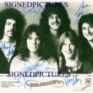 JOURNEY BAND GROUP AUTOGRAPHED AUTOGRAPH AUTOGRAM 8x10 RP PROMO PUBLICITY PHOTO STEVE PERRY +