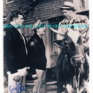 THE ANDY GRIFFITH SHOW AUTOGRAPHED AUTOGRAPHS 8x10 RP PHOTO ANDY GRIFFITH HAL SMITH & DON KNOTTS