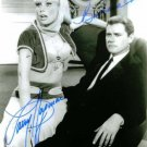 I DREAM OF JEANNIE CAST AUTOGRAPHED 8x10 RP PHOTO LARRY HAGMAN AND BARBARA EDEN