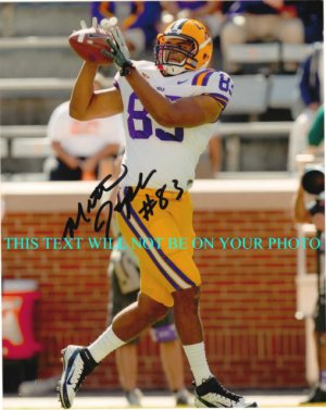 MITCH JOSEPH AUTOGRAPHED 8x10 RP PHOTO LSU