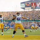 WILL BLACKWELL AUTOGRAPHED 8x10 RP PHOTO LSU - STEELERS