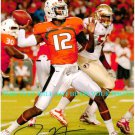 JACORY HARRIS AUTOGRAPHED 8x10 RP PHOTO MIAMI