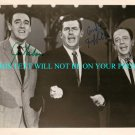 THE ANDY GRIFFITH SHOW AUTOGRAPHED 8x10 RP ANDY GRIFFITH DON KNOTTS & JIM NABORS