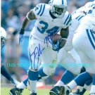 DELONE CARTER AUTOGRAPHED 8x10 RP PHOTO SYRACUSE IND COLTS