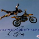 TRAVIS PASTRANA AUTOGRAPH SIGNED AUTOGRAPHED 8x10 RP PHOTO X GAMES RACING NITRO CIRCUS AWESOME