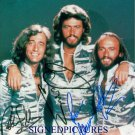 THE BEE GEES GROUP AUTOGRAPHED 8X10 RP PHOTO ALL 3 MAURICE BARRY AND ROBIN GIBB