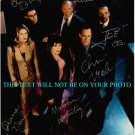 LAW AND ORDER SPECIAL VICTIMS UNIT CAST SIGNED AUTOGRAPHED 8x10 RP PHOTO BY ALL 6  SVU