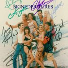 BEVERLY HILLS 90210 FULL CAST AUTOGRAPHED 8x10 RP PHOTO BH90210