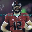 ANDREW LUCK AUTOGRAPHED 8x10 RP PHOTO #1 DRAFT QB STANFORD COLTS