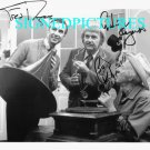 CAPTAIN KANGAROO BOB KEESHAN AND MR FRED ROGERS AUTOGRAPHED 8x10 RP PHOTO