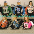 JOHN FORCE RACE TEAM AUTOGRAPHED 8x10 RP PHOTO ASHLEY BRITTANY COURTNEY LAURIE +