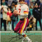 JOE THEISMAN AUTOGRAPHED 8x10 RP PHOTO WASHINGTON REDSKINS