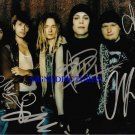 HIM GROUP VILLE VALO SIGNED AUTOGRAPHED 8x10 RP PHOTO H.I.M.