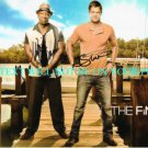 THE FINDER CAST SIGNED AUTOGRAPHED 8x10 RP PHOTO GEOFF STULTS AND MICHAEL CLARKE DUNCAN