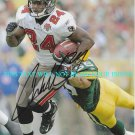 CADILLAC WILLIAMS AUTOGRAPHED 8x10 RP PHOTO TAMPA BAY BUCCANEERS