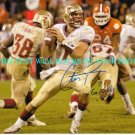 CHRISTIAN PONDER AUTOGRAPHED 8x10 RP PHOTO FLORIDA STATE U VIKINGS QB