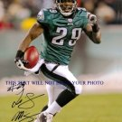 LESEAN MCCOY AUTOGRAPHED 8x10 RP PHOTO PHIL EAGLES