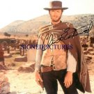 CLINT EASTWOOD AUTOGRAPHED 8x10 RP PHOTO THE GOOD BAD AND THE UGLY