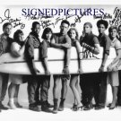 CHINA BEACH CAST AUTOGRAPHED 8x10 RP PHOTO DANA DELANY MARG HELENBERGER +