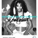DONNA SUMMER DISCO QUEEN AUTOGRAPHED 8x10 RP PUBLICITY PHOTO  INCREDIBLE VOICE