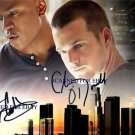 NCIS LOS ANGELES AUTOGRAPHED 8x10 RP PHOTO CHRIS ODONNELL LL COOL J