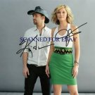 SUGARLAND AUTOGRAPHED 8x10 RP PHOTO JENNIFER NETTLES AND K BUSH